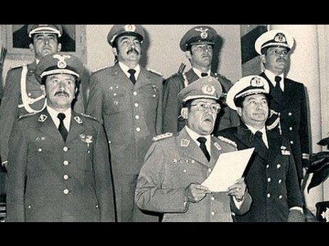 SIGLO XX - EL GOLPE DE GARCIA MEZA en BOLIVIA, 17 de julio de 1980