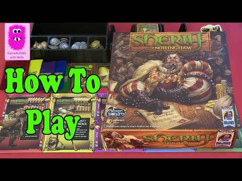 How to play - Sheriff of Nottingham