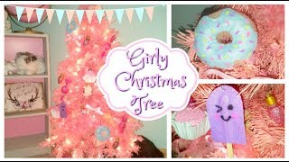 Pink Christmas Tree DIY - Dollar Tree Ornaments