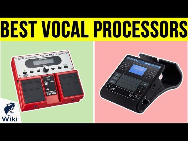 10 Best Vocal Processors 2019