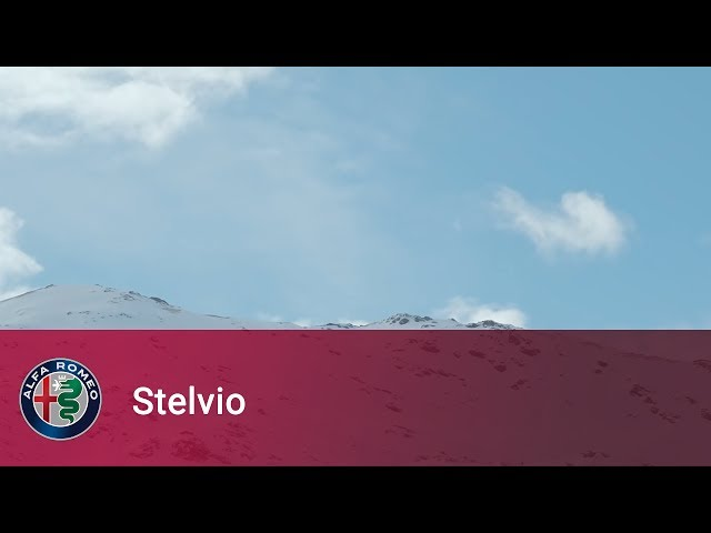 Alfa Romeo Stelvio - I've been waiting for you