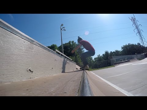 Trying Oysi Frames at Homestead skatepark - Back to Blading