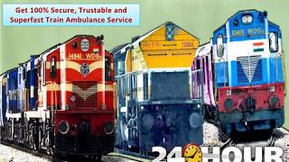 Get Medical Train Ambulance in Delhi and Kolkata for ICU Patient Transfer