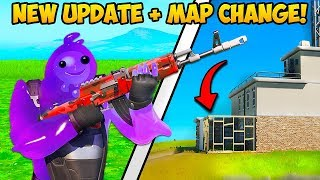 *NEW UPDATE* THE MAP IS CHANGING + SIDEGRADING!! - Fortnite Funny Fails and WTF Moments! #801