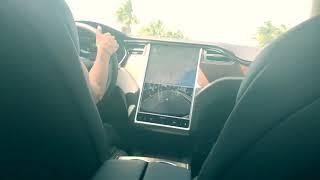 Amara360 Vlog Day Tesla