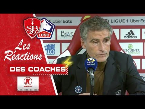 Brest - Lille : La réaction des coaches