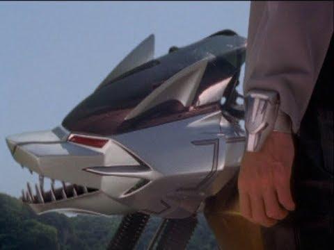 "Power Rangers Wild Force - Power Rangers rescue Lunar Wolf Ranger   Episode 27 ""Unfinished Business"""