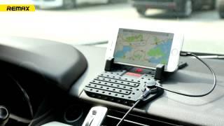Автомобильная зарядка Remax + держатель ✔iPhone ✔Android от компании Avto-Max - видео