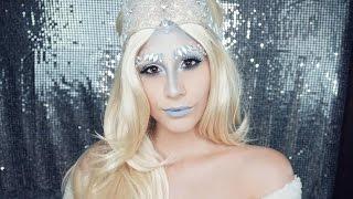 Ice Queen Makeup Tutorial | Halloween Makeup