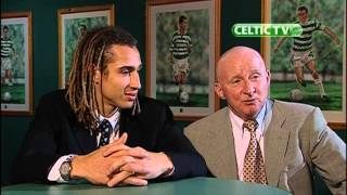 Henrik Larsson und Jimmy Johnstone im Interview