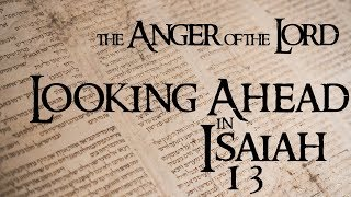 The Anger of the Lord