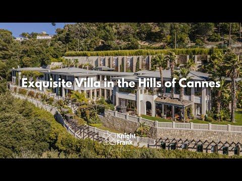 Vila Requintada nas Colinas de Cannes