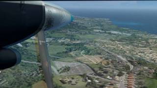 Chartered Islander flight from Anguilla to Montserrat