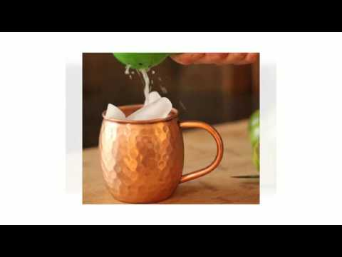 Video Moscow Mules In Copper Mugs 720p