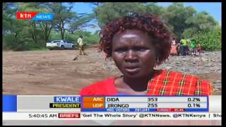 Tallying process slow but peaceful in Baringo after heavy rains rocked the county