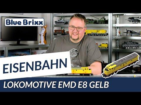 Lokomotive EMD E8 Gelb