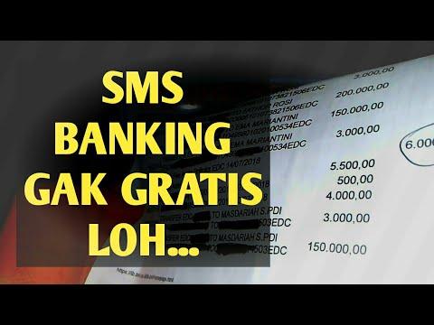 TARIF SMS BANKING BRI