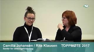 Toppmøte 2017 – Camilla Johansen og Rita K Klausen