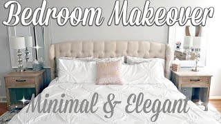 BEDROOM MAKEOVER 2018 // BEAUTIFUL AND MINIMAL // DECOR ON A BUDGET // BEAUTY AND THE BEASTONS