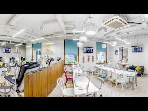 3D Видео обзор маникюрного салона ПАЛЬЧИКИ на Фрунзенской