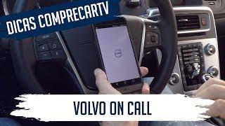 Volvo On Call - Controlando o carro pelo Smartphon