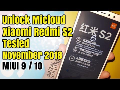 Xiaomi Redmi s2 m1803e6g mi account anti relock When Wifi Or
