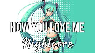 (NIGHTCORE) How You Love Me (feat. Conor Maynard & Snoop Dogg) - Hardwell