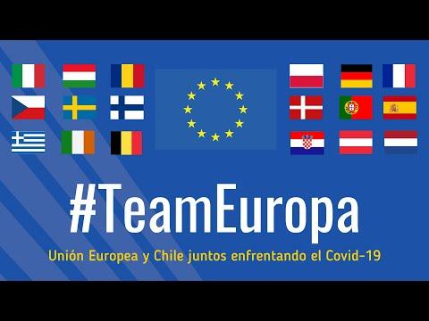 #TeamEuropa: la Unión Europea y Chile juntos enfrentando el Covid-19