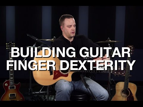 Building Guitar Finger Dexterity - Free Guitar Lesson
