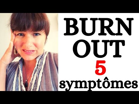 Comment prendre conscience d'un MAL-ETRE professionnel : 5 symptômes de BURN OUT