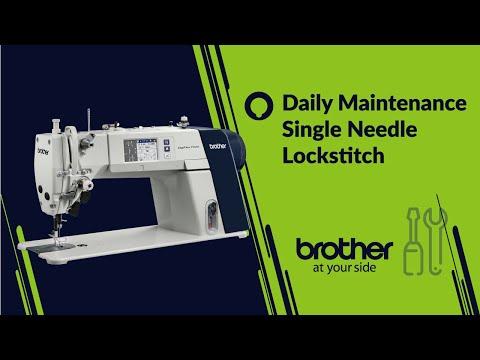 Daily maintenance of Single needle sewing machine