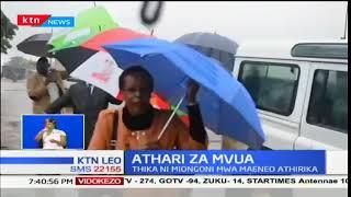 Athari ya Mvua:Mvua kubwa yatatiza mtihani wa KCSE maeneo kadhaa