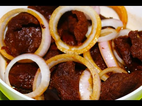 How to Cook Bistek Tagalog Recipe – English