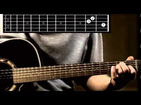 E Major guitar chord tutorial