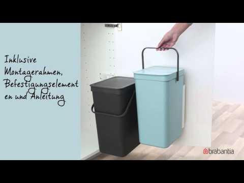Brabantia - Sort & Go Mülleimer