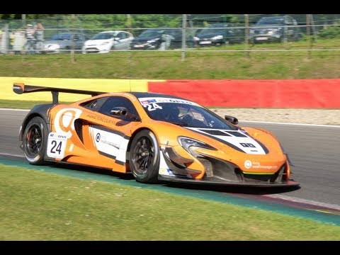 McLaren 650S GT3 pure Sound  2017/2018