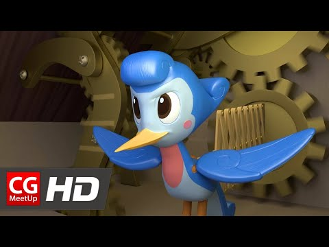 "CGI Animated Short Film ""Cuckoo Short Film"" by Celeste Amicay"