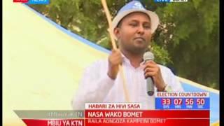 NASA wako Bomet: Raila aongoza kampeni eneo la Bomet