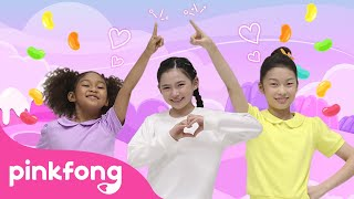 Jelly Wiggle   Kids Choreography   Performance Video   Pinkfong Kids Pop Dance