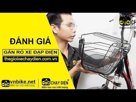 Hướng dẫn gắn giỏ xe đạp điện