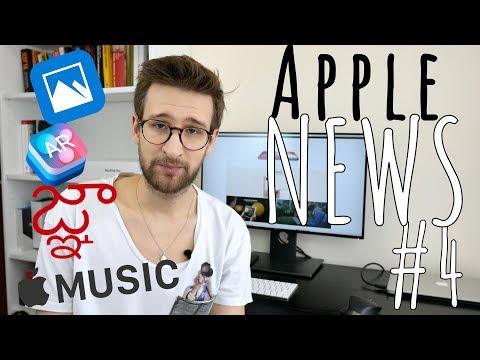 Apple NEWS #4 - o Apple MUSIC, Apple PARK i ARKit(12-18.02.2018)