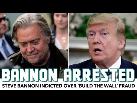 Breaking: Steve Bannon Arrested Over 'Build The Wall' Fraud