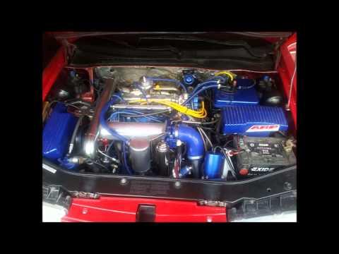 Der Aufwand des Benzins der Toyota korolla der Motor