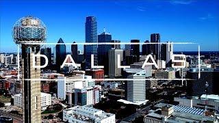 Dallas, Texas | 4K Drone Footage