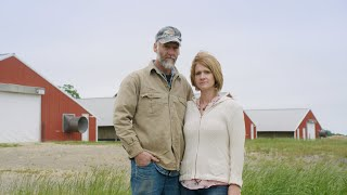 The Barrett Family are Converting Their Poultry Barns into a Mushroom Farm
