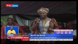 Deputy President William Ruto enters into a heated debate with Bomet governor Isaac Ruto