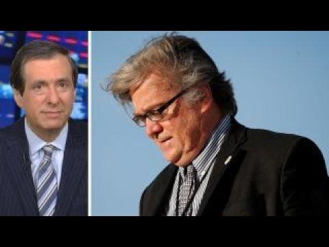 Kurtz: Bannon's war with the media
