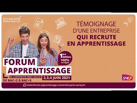 Video Apprentissage et entreprises - Témoignage n°1 SNCF