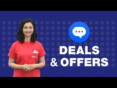 How to search for Deals and Offers on JioChat?