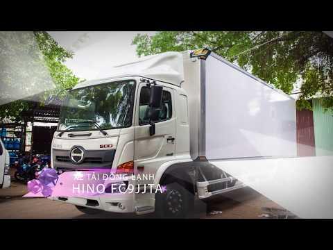 Xe tải bảo ôn Hino FC9JJTA tại TRAN AUTO